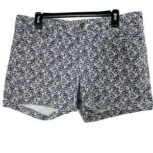 J.Crew womens size 12 Shorts Denim Printed Floral